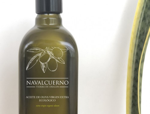Diseño de packaging AOVE «Navalcuerno»